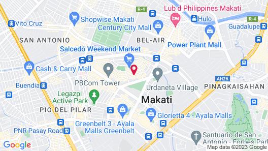 Citadines Salcedo Makati Map