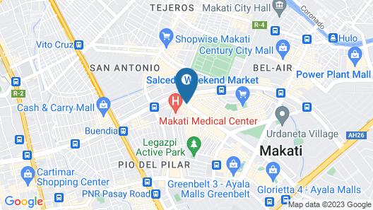 Seda Residences Makati Map