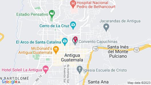 El Convento Boutique Hotel Map