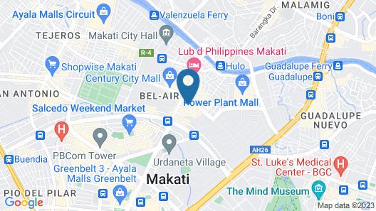 Hotel Durban Map