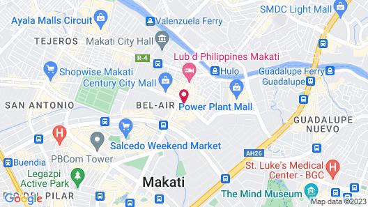 Coro Hotel Map