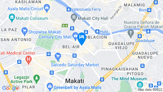 City Garden Hotel Makati Map