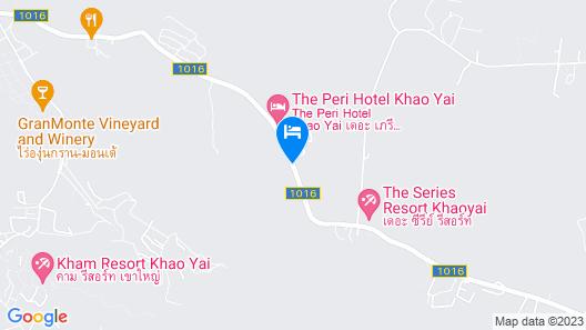 The Valley - Escape Khaoyai Map