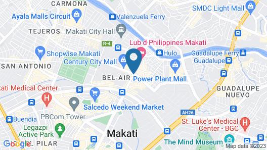 City Garden GRAND Hotel Map