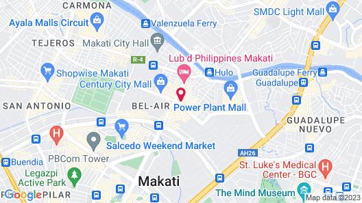 Red Planet Manila Makati Map