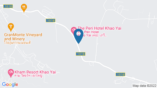 CK Cottage @ The Valley Khaoyai Map