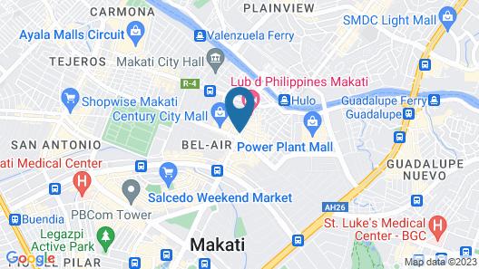 Berjaya Makati Hotel Map