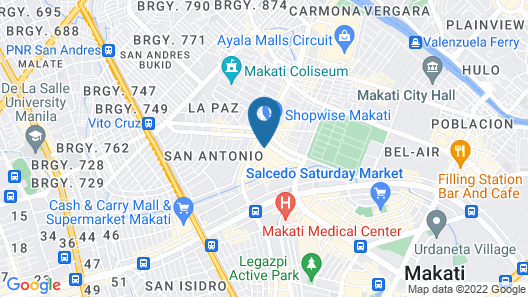 Guijo Suites Makati Map