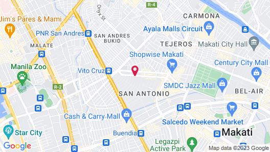 Ramada Encore Makati Map
