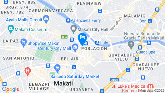 Y2 Residence Hotel Map