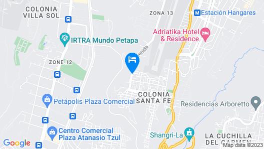 Hostal Los Volcanes - Hostel Map
