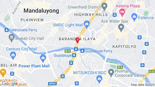 Go Hotels Mandaluyong Map