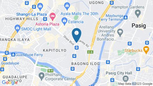 Victoria Court Hillcrest Pasig Map