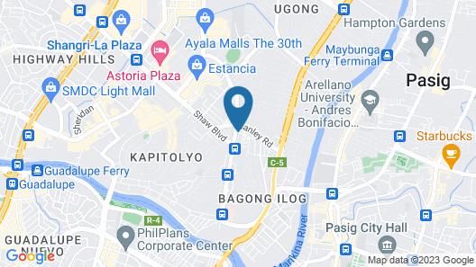 Victoria Court Suites Map