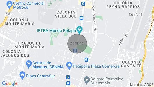 Casa Frida Khalo en Pana Map