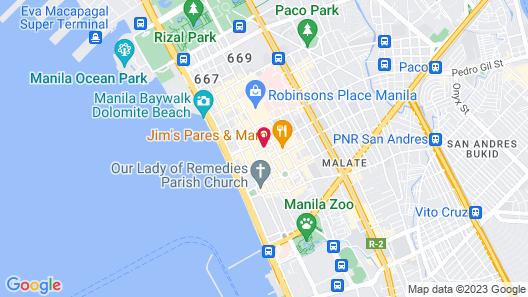 Sheraton Manila Bay Map