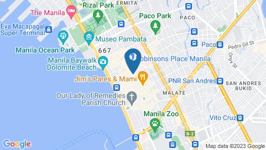 JMM Grand Suites Map