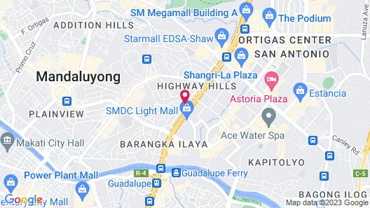Frederick's Apartelle Map