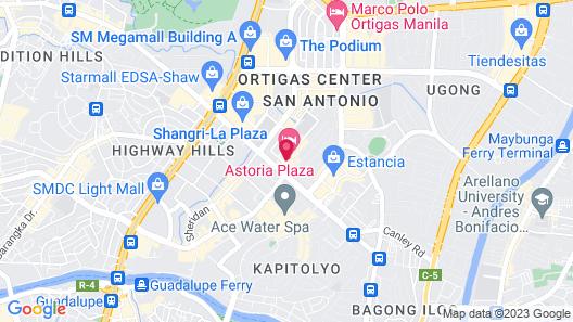 Astoria Plaza Map