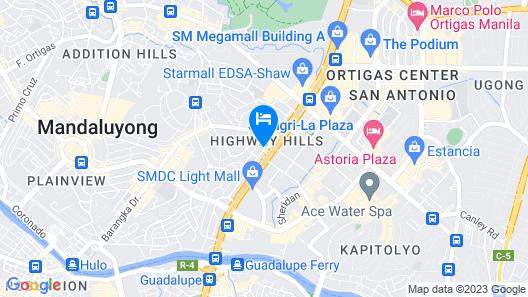 OYO 474 UrbandecaTower316 NizamiCondotel Map