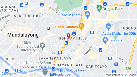 3315 Urban Deca Tower Edsa Map