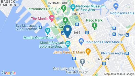 OYO 241 Airo Hotel Map