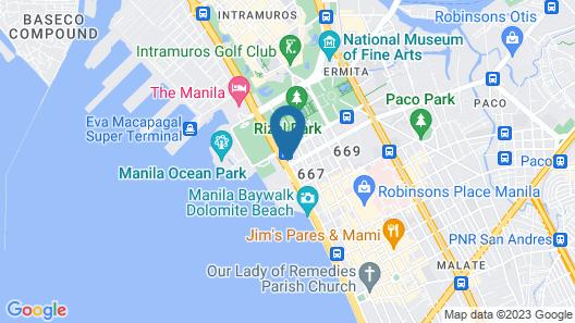 Miramar Hotel Map