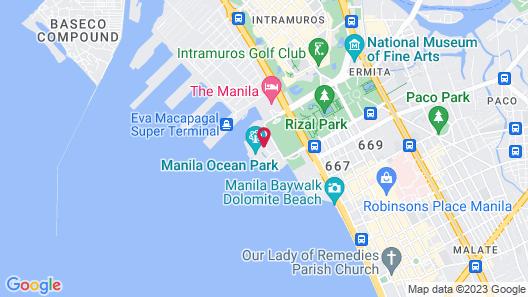 Hotel H2O Map