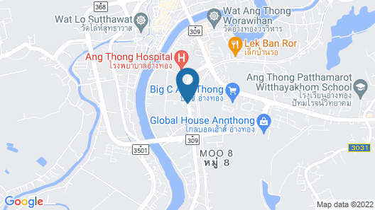 Bualuang Angthong Hotel Map