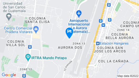 Hotel Don Felipe Airport Map