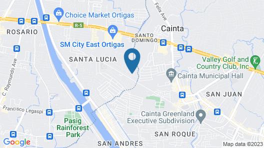 RedDoorz near C5 Kalayaan Avenue Makati Map