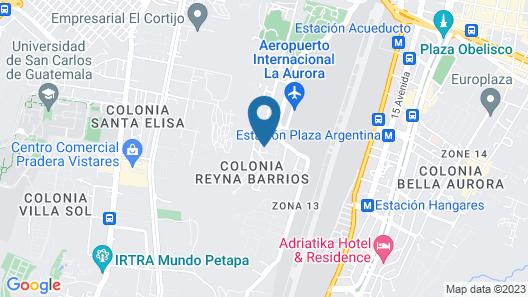 Hotel Casa Blanca Inn Map