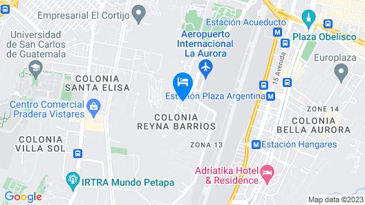 Hotel Ixbalanque Map