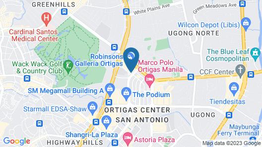 Holiday Inn Manila Galleria, an IHG Hotel Map