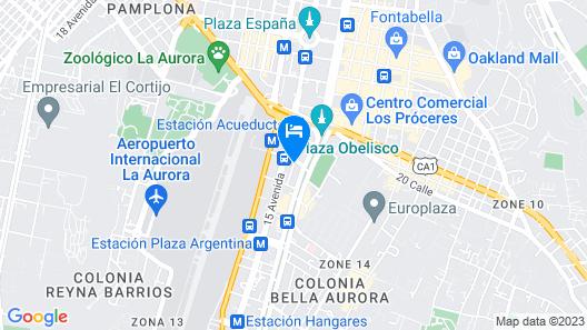 Suites Terraza Imperial Map