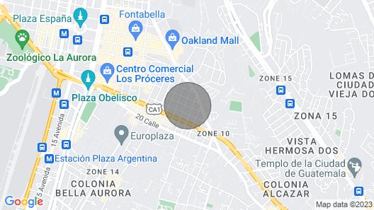 Beautiful Room , Zone 10 Guatemala City Map