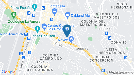 Ever Green Hotel Map