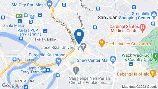 Joyce Apartelle Kalentong Map