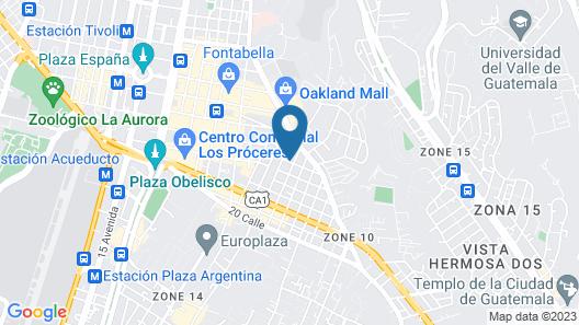Hotel Piedraluna Map