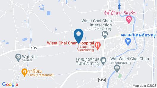 Panpree Hotel Map