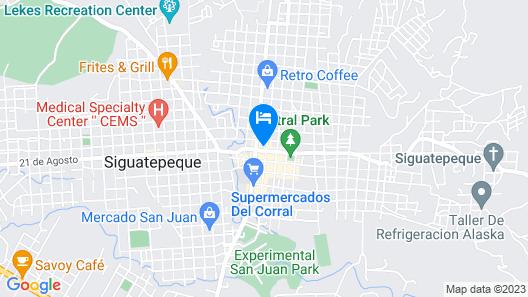Park Place Hotel Map