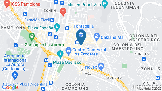 Apart - Hotel Casa Serena Map
