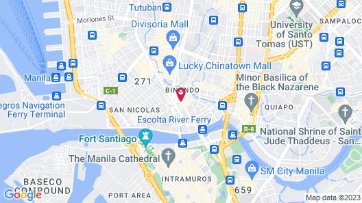Ramada by Wyndham Manila Central Map