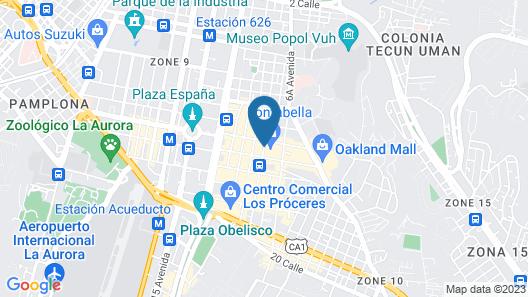 H&F Hotel Fontabella Map