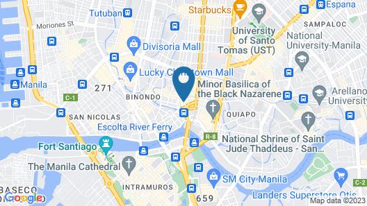Lido De Paris Hotel Map