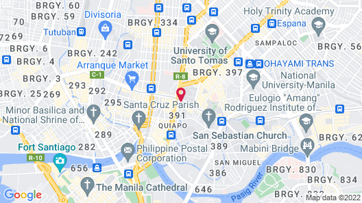 Hotel Sogo-Cartimar Recto Map
