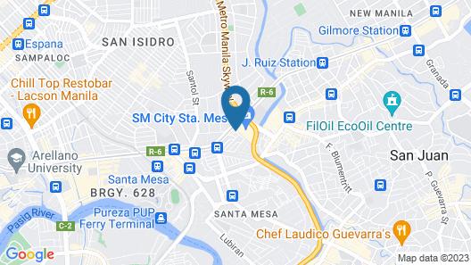 Hotel Sogo Sta Mesa Map