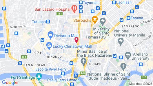 Manila Grand Opera Hotel Map