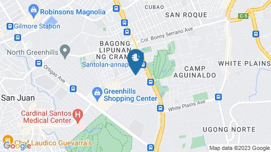 Summit Hotel Greenhills Map