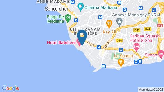 Hotel La Bateliere Map